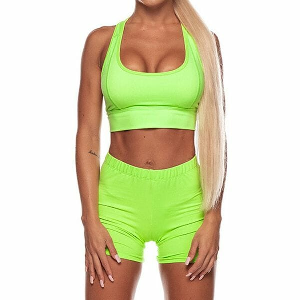 Women's Sexy Polyester Fitness Clothing Suit Fitness & Yoga (30445595341)