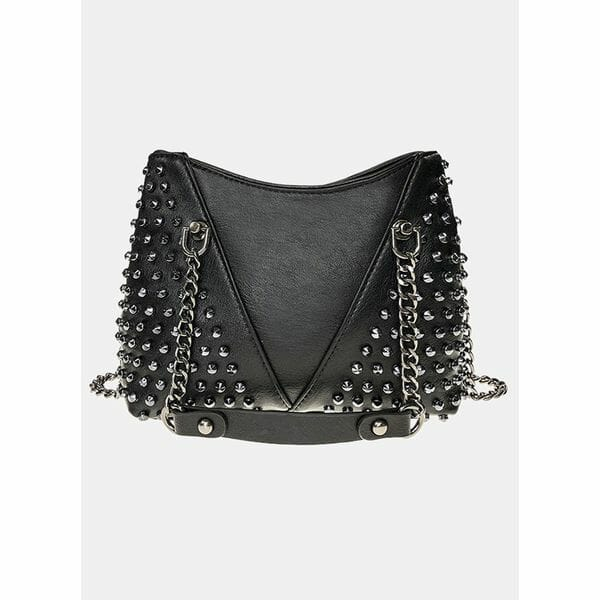 Shoulder Fashion Studded Chain Bags (1825632587)