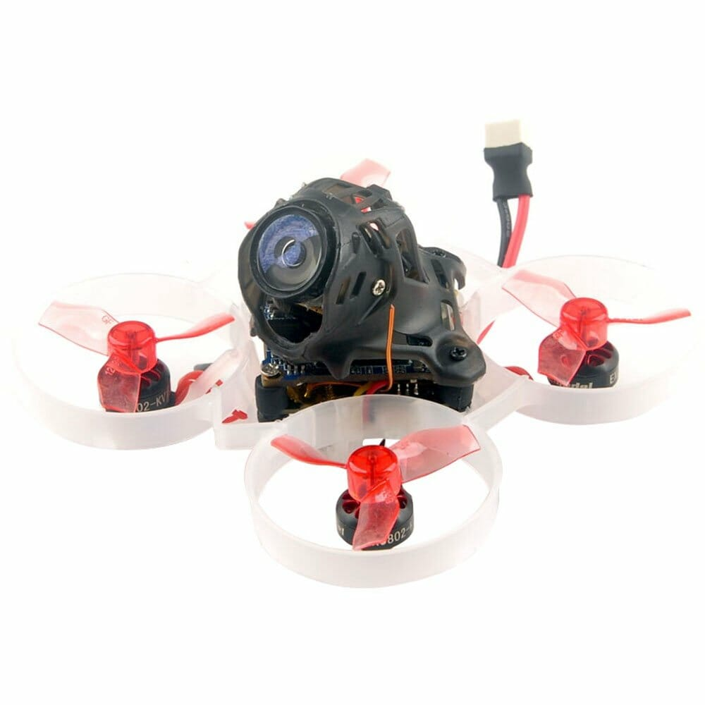 Happymodel Mobula6 HD 1S 65mm Brushless HD Whoop FPV Racing Drone with Crazybee F4 Lite 1S Flight Control w/Runcam Nano3 - Compatible Frsky D8 Receiver