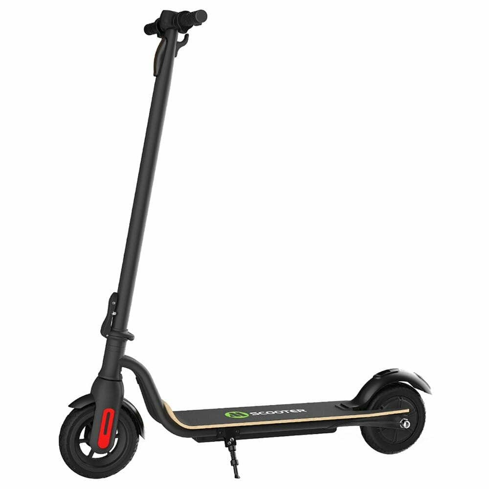 Megawheel S10 Folding Electric Scooter 250W Motor LED Display Screen Max 25km/h Up To 22km Range 8 Inch Tire - Black