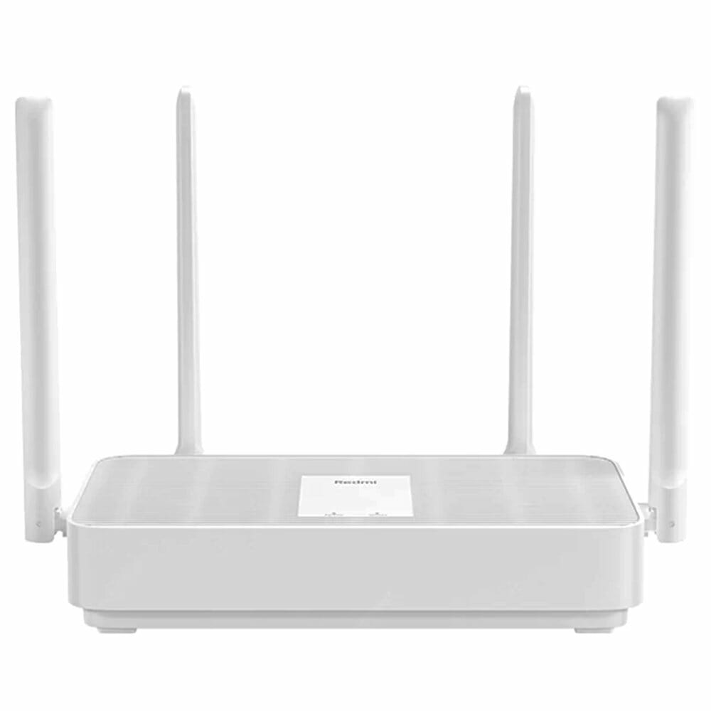 Xiaomi Redmi AX5 Router 5 Core WiFi 6 Dual Band Wireless WiFi Router Support Mesh OFDMA 1775MBps 4xAntennas 256MB Wireless Signal Booster Children Protection - White