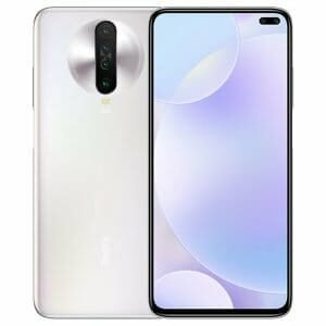 Xiaomi Redmi K30 CN Version 5G Smartphone 6.67 Inch FHD+ Screen Snapdragon 765G Octa Core 6GB RAM 64GB ROM Android 10.0 Dual Front Quad Rear Cameras 4500mAh Large Battery - White