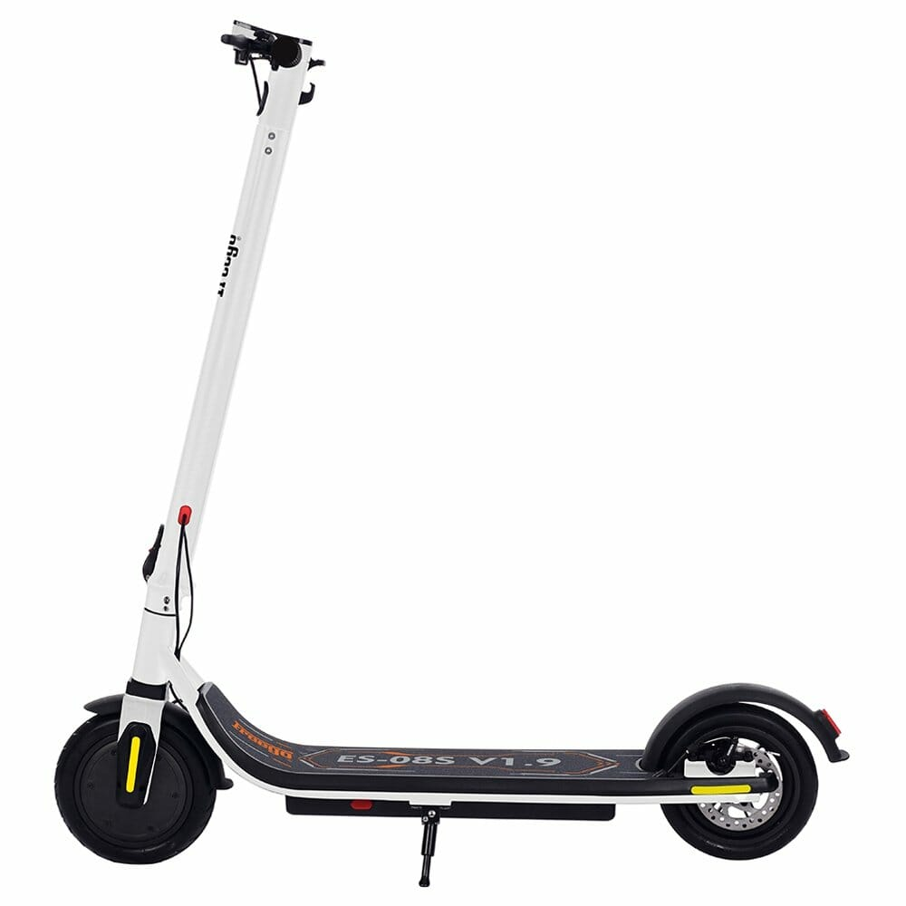 Freego ES-08S Folding Electric Scooter 350W Motor Max 25KM/H LCD Display Screen  8.5 Inch Tire - White