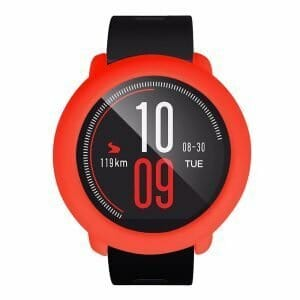 Huami AMAZFIT Smart Watch PACE Replacement Soft Silicon Case - Red