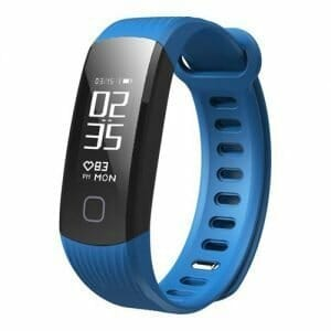 Makibes HR1 Smart Bracelet Long Time Continuous Heart Rate Monitor Nordic nRF52832 IP67 Water Resistant Compatible With IOS Android - Blue