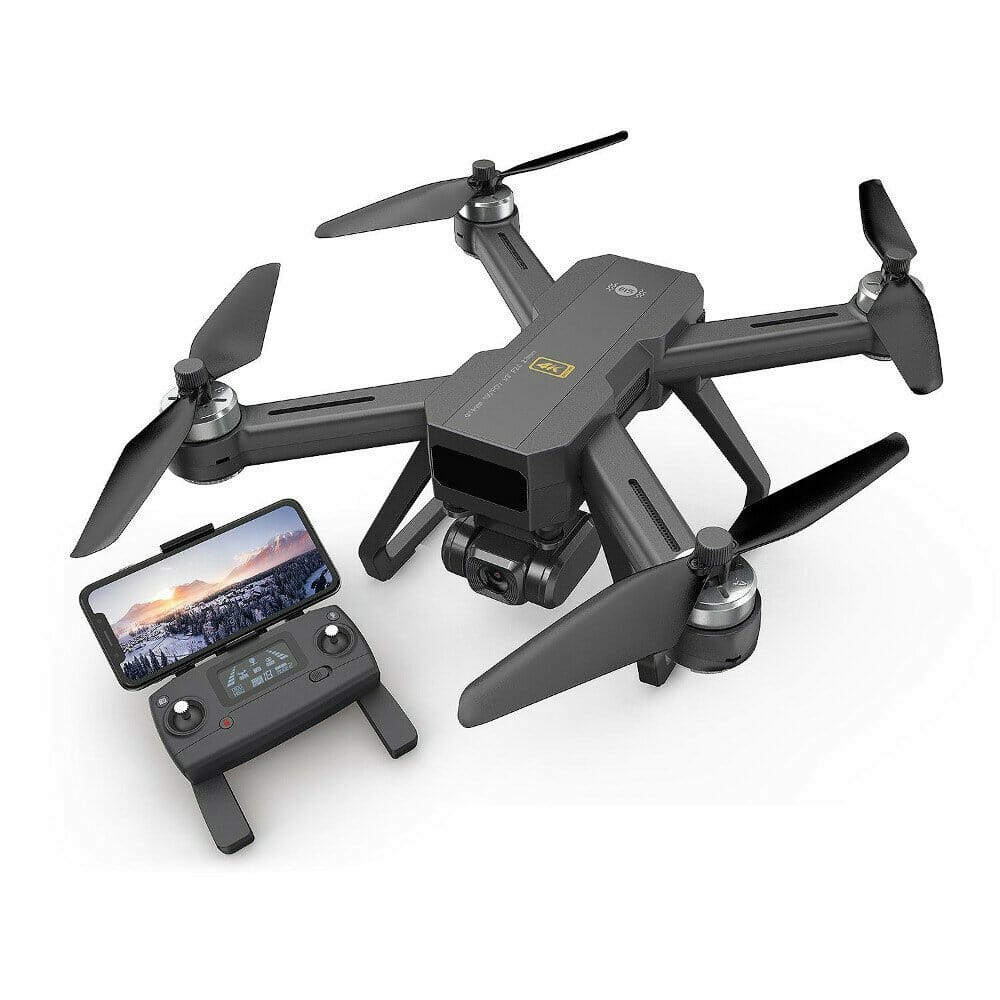 MJX B20 4K 5G WIFI FPV EIS Ajustable Camera Brushless GPS RC Drone With Optical Flow Positioning RTF - Three Batteries