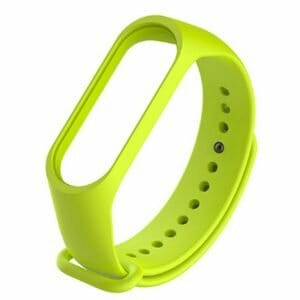 Replacement Strap Silicon Watch Band for Xiaomi Mi Band 3 Smart Bracelet - Green