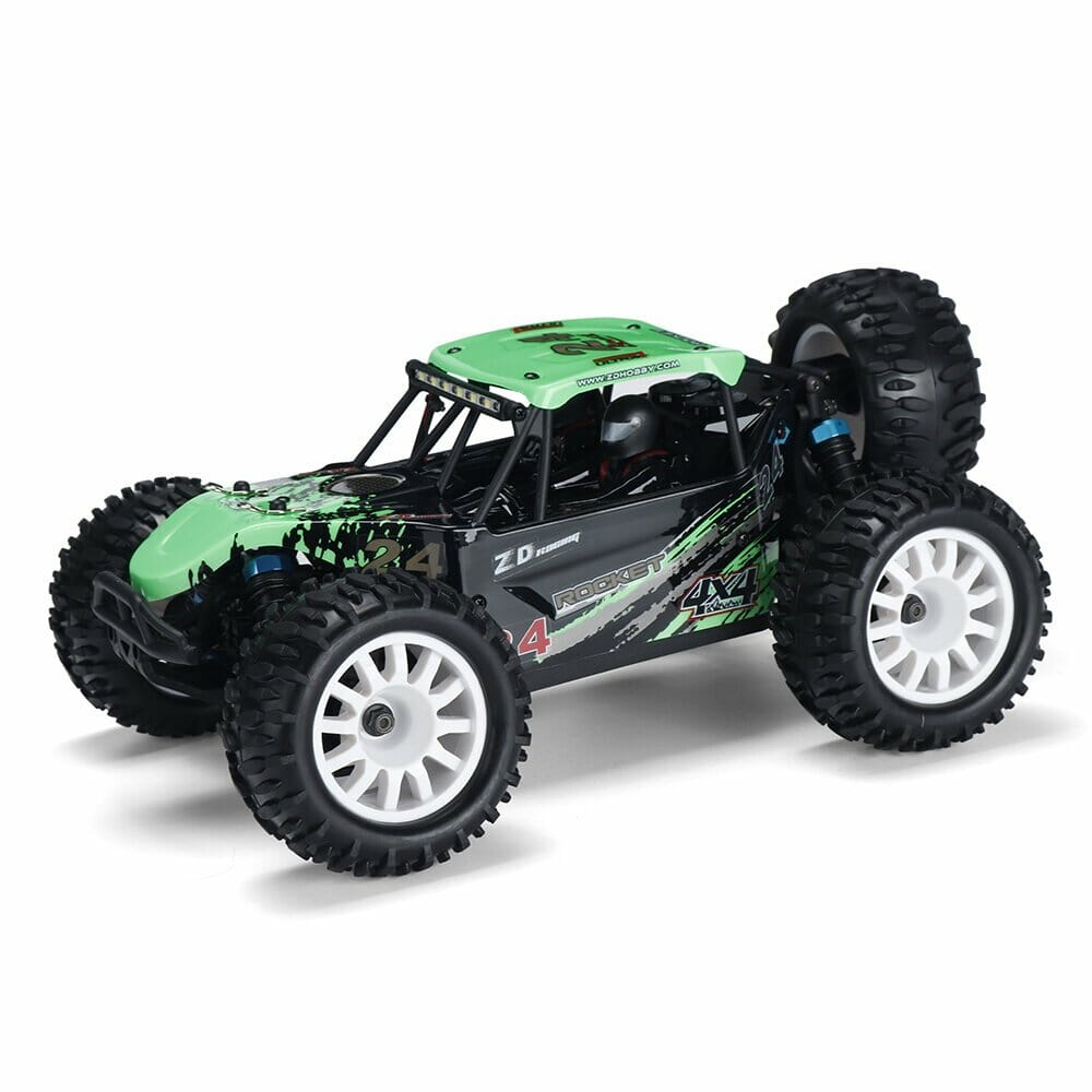 ZD Racing ROCKET DTK16 1:16 Scale 4WD 45KM/H Brushless Desert Truck RC Car - Green