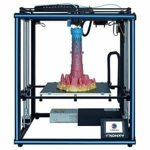 TRONXY X5SA 3D Printer Rapid Assembly DIY Kit Printing Size 330*330*400mm Auto Leveling Filament Sensor Resume Print Cube Full Metal Square with 3.5 inch Touch Screen
