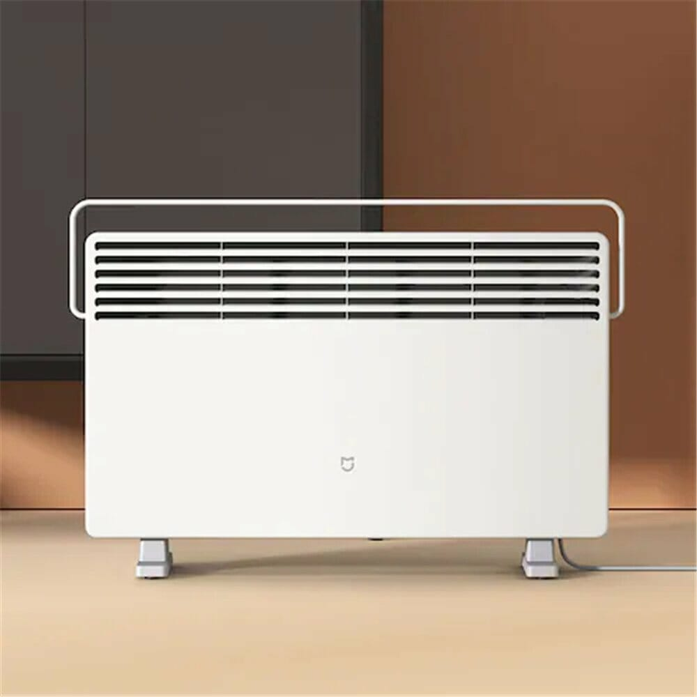 Xiaomi MIJIA Smart Electric Heater Warming Fan Air Conditioner Heating 2200W 3 Gears Temperature Control Plate IPX4 Waterproof Version - White